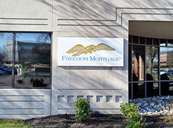 Freedom Mortgage Pan Sign